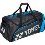 Yonex(ヨネックス)PRO SERIES キャスターバッグ(テニス3本用) ブラック/ブルー BAG1800C