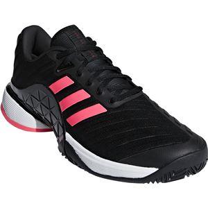 adidas(アディダス) adidas Tennis BARRICADE 2018 AC コアブラック×コアブラック×フラッシュレッドS15 AH2092 【32.5cm】