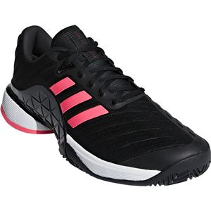 adidas(アディダス) adidas Tennis BARRICADE 2018 AC コアブラック×コアブラック×フラッシュレッドS15 AH2092 【33.5cm】