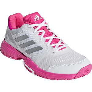 adidas(アディダス) adidas Tennis BARRICADE CLUB W OC ランニングホワイト×ショックピンクF18×リアルピンクS18 BC0387 【25.0cm】