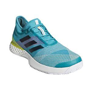 adidas(アディダス) adidas Tennis UBERSONIC 3 MULTICOURT ランニングホワイト×レジェンドインクF17×ショックイエローF18 F36721 【26.0cm】 - 拡大画像
