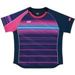 VICTAS TSP 卓球アパレル ゲームシャツ レディスクラールシャツ 女子用 032416 ネイビー 2XL