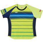 VICTAS TSP 卓球アパレル ゲームシャツ レディスクラールシャツ 女子用 032416 ライム 2XS