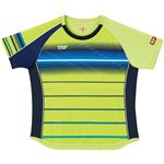 VICTAS TSP 卓球アパレル ゲームシャツ レディスクラールシャツ 女子用 032416 ライム XS