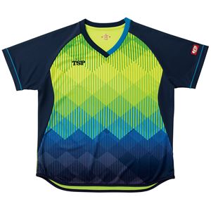 VICTAS TSP 卓球アパレル ゲームシャツ レディスリエートシャツ 女子用 032418 ライム 2XS