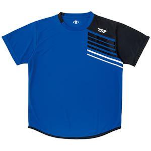 VICTAS TSP 卓球アパレル プラクティスシャツ TT-190シャツ 033411 ブルー XL