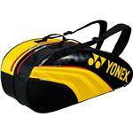 Yonex(ヨネックス) TEAM SERIES ラケットバック6 リュック付き(テニスラケット6本用) イエロー×ブラック