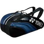 Yonex(ヨネックス) TEAM SERIES ラケットバック6 リュック付き(テニスラケット6本用) ブラックネイビー
