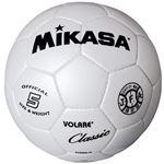 MIKASA(ミカサ)サッカーボール 検定球5号 ホワイト 【SVC500W】