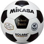 MIKASA(ミカサ)サッカーボール 検定球4号 ホワイト×ブラック 【SVC402SBC】
