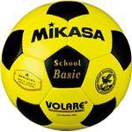 MIKASA(ミカサ)サッカーボール 検定球4号 イエロー×ブラック 【SVC402SBC】