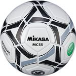 MIKASA(ミカサ)サッカーボール 5号検定球 ホワイト×ブラック 【MC55WBK】