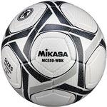 MIKASA(ミカサ)サッカーボール 検定球5号 ホワイト×ブラック 【MC550WBK】