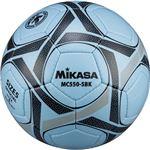 MIKASA(ミカサ)サッカーボール 検定球5号 サックス×ブラック 【MC550SBK】