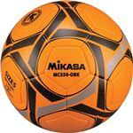 MIKASA(ミカサ)サッカーボール 検定球5号 オレンジ×ブラック 【MC550OBK】