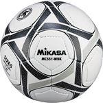 MIKASA(ミカサ)サッカーボール 検定球5号 ホワイト×ブラック 【MC551WBK】