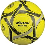 MIKASA(ミカサ)サッカーボール 検定球5号 イエロー×ブラック 【MC551YBK】