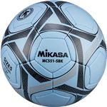 MIKASA(ミカサ)サッカーボール 検定球5号 サックス×ブラック 【MC551SBK】