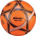 MIKASA(ミカサ)サッカーボール 検定球5号 オレンジ×ブラック 【MC551OBK】