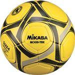 MIKASA(ミカサ)サッカーボール 検定球4号 イエロー×ブラック 【MC450YBK】