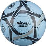 MIKASA(ミカサ)サッカーボール 検定球4号 サックス×ブラック 【MC450SBK】