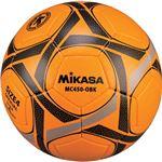 MIKASA(ミカサ)サッカーボール 検定球4号 オレンジ×ブラック 【MC450OBK】