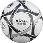 MIKASA(ミカサ)サッカーボール 検定球4号 ホワイト×ブラック 【MC451WBK】