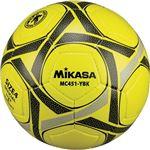 MIKASA(ミカサ)サッカーボール 検定球4号 イエロー×ブラック 【MC451YBK】
