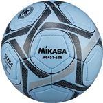 MIKASA(ミカサ)サッカーボール 検定球4号 サックス×ブラック 【MC451SBK】