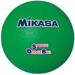 MIKASA(ミカサ)ドッジボール スポンジドッジボール グリーン 【STD18】