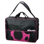 MIKASA(ミカサ)ボールバッグ サッカーボールバッグ(6個入) ブラック×ピンク 【FS6CBKP】