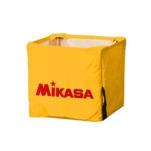 MIKASA(ミカサ)器具 ボールカゴ用(箱型・小) 幕体のみ イエロー 【BCMSPSS】 - 拡大画像