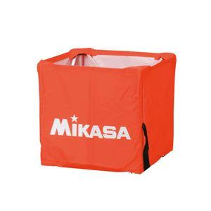 MIKASA(ミカサ)器具 ボールカゴ用(箱型・小) 幕体のみ オレンジ 【BCMSPSS】 - 拡大画像