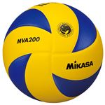 MIKASA(ミカサ)バレーボール 国際公認球 バレーボール検定球5号 【MVA200】