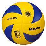 MIKASA(ミカサ)バレーボール 国際公認球 バレーボール検定球5号 【MVA300】