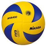 MIKASA(ミカサ)バレーボール 中学生・家庭婦人バレーボール4号検定球 【MVA400】