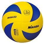 MIKASA(ミカサ)バレーボール 中学生・家庭婦人バレーボール4号練習球 【MVA430】