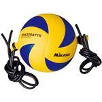MIKASA(ミカサ)バレーボール トレーニングボール5号(ゴムひも固定式アタック練習用) 【MVA300ATTR】