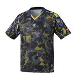 Nittaku(ニッタク) 卓球ゲームシャツ MOVESTAINED SHIRT ムーブステンドシャツ 男女兼用ブラック2XO
