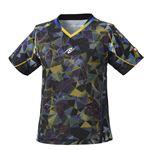 Nittaku(ニッタク) 卓球ゲームシャツ MOVESTAINED LADIES SHIRT ムーブステンド レディースシャツブラックS
