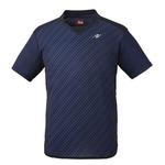Nittaku(ニッタク) 卓球ゲームシャツ SRIPE SHIRT スライプシャツネイビーO