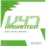 andro(アンドロ) テンションラバー RASANTER V47 ラザンター ブイ47黒1.7