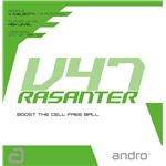 andro(アンドロ) テンションラバー RASANTER V47 ラザンター ブイ47黒2.0