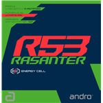 andro(アンドロ) テンションラバー RASANTER R53 ラザンター アール53赤1.7