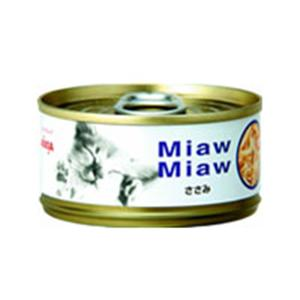 【ペット用】MiawMiaw (ミャウミャウ) 細かめフレークタイプ ささみ 80g - 拡大画像