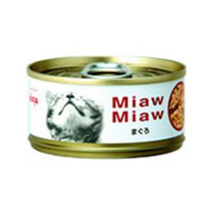 【ペット用】MiawMiaw (ミャウミャウ) 細かめフレークタイプ まぐろ 80g - 拡大画像