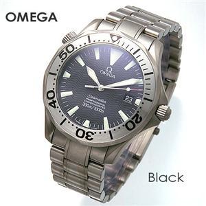 OMEGA(オメガ) 腕時計 シーマスター クロノメーター 300M チタン 2231.50 ブラック - 拡大画像