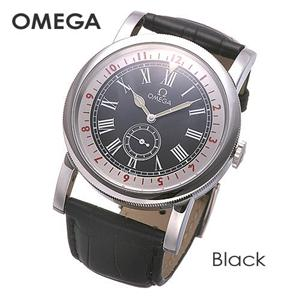 OMEGA(オメガ) 腕時計 パイロット オートマチック 51613411001001 ブラック - 拡大画像