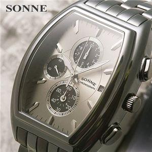 SONNE(ゾンネ) トノークロノ ガンメタル S114N - 拡大画像