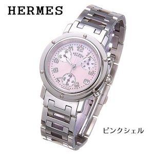 HERMES(エルメス) クリッパー クロノグラフ レディース CL1.310.214/3842/ピンクシェル - 拡大画像